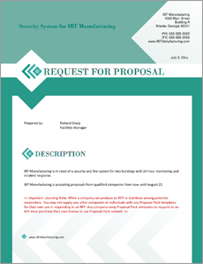 what is an rfp
