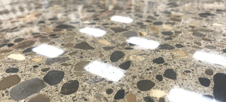 Using Polished Concrete Outdoors